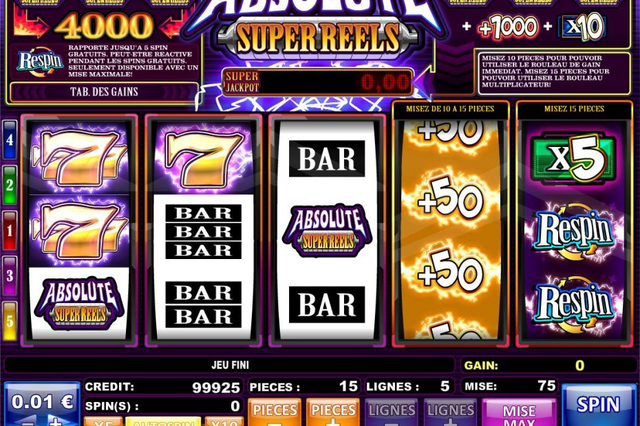 astuces machines à sous casino
